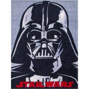 Disney Grijze Star Wars fleece deken voor jongens