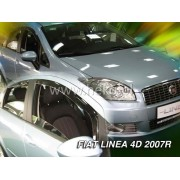 Deflektory komplet 4 ks pre FIAT Linea , 2007-