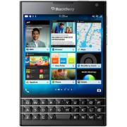 "Telefon Mobil BlackBerry Passport, Procesor Quad-Core 2.26GHz, IPS LCD Capacitive touchscreen 4.5"", 3GB RAM, 32GB Flash, 13MP, Wi-Fi, 4G, BlackBerry 10.3 (Negru) + Cartela SIM Orange PrePay, 6 euro credit, 4 GB internet 4G, 2,000 minute nationale si inter"