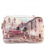 Y Not? Beauty Case Rettangolare Y NOT L-306 Pink Rome