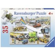 Puzzle Aeroport Ocupat, 35 Piese Ravensburger