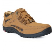 Red Chief Rust Men Low Ankle Outdoor Casual Leather Shoes (RC5017 022)