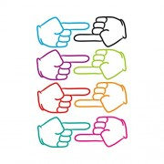 Ashley Productions Pointing Fingers Die-Cut Magnet
