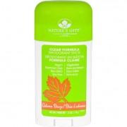 Natures Gate Deodorant - Stick - Clear Formula - Autumn Breeze - 2.5 oz