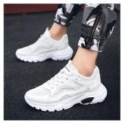 Hombre Zapatos Casual De Correr Fashion-cool-Blanco