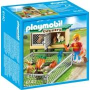 Tarc de iepuri cu cusca Country Farm Playmobil