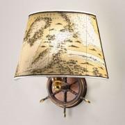 Nautica maritime wall light, one-bulb, 30 cm