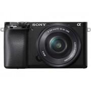 Sony Kit Máquina Fotográfica Mirrorless Alpha 6100 + 16-50 mm PZ (Preto - 24.2 MP - Sensor: APS-C - ISO: 100 a 51200)