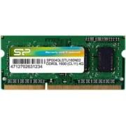 Memorie Laptop SODIMM Silicon Power 4GB DDR3 1600MHz CL11 1.35V