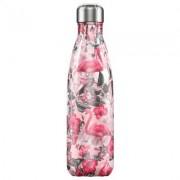 Chilly's Bottles, Trinkflasche-Flamingo Pink-Limitiert-500ml