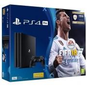 Consola SONY PlayStation 4 PRO (PS4 PRO) 1TB, negru + FIFA 18
