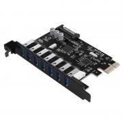 Adaptor Orico PCI-Express PVU3-7U 7 Port USB 3.0