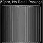 50 Pcs Para Alcatel Idol 4 0.26mm 9h Dureza Superficial 2.5D A Prueba De Explosion Tempered Glass Screen Film, Sin Paquete Al Por Menor