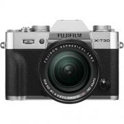 Fujifilm X-T30 + 18-55mm F/2.8-4 XF R LM OIS - ARGENTO - 2 Anni di Garanzia in Italia