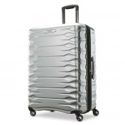 Samsonite Prisma 4 Wheel Hardside Spinner Silver Suitcase/Luggage