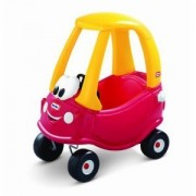 Toy / Game Awesome Little Tikes Classic Coupe 30th Anniversary Car With Cozy Rolls, Durable Tires And Front Wheels