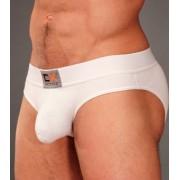 Cocksox Active Waistband Natural Pouch Brief Underwear Quartz White CXA03N