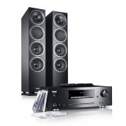 "Teufel ""Kombo 500 stereo installatie met bluetooth en cd/mp3 receiver, zwart"""