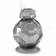 DIY 3D rompecabezas 3DBB-8 robotica ensamblaje modelo juguetes educativos - plata