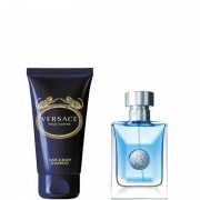 Versace Pour Homme Confezione 30 ML Eau de Toilette + 50 ML Hair & Body Shampoo