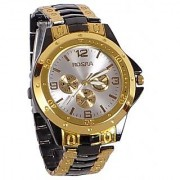 i DIVA'S LIFE Rosra ss Golden Black Analog Watches by Eglob