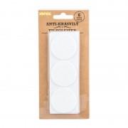 Xenos Anti-krasvilt - wit- set van 6