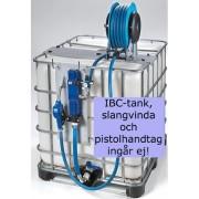 Pump Dp2100pn Med Slang & Fäste För 1000l Container Med Fäste För Slan