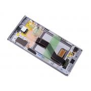 Display LCD e Touch branco para Samsung Galaxy Note 10 Plus N975F