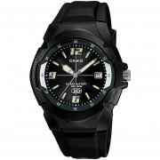 Reloj CASIO MW-600F-1AVCF 10 Year Battery Collection Análogo Con Calendario-Negro