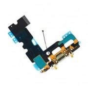 Apple iPhone 7 Lightning Connector - оригинален резервен захранващ (Lightning) лентов кабел/порт за iPhone 7 (черен)