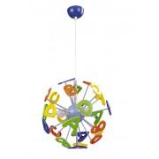 Lampa pentru copii, Rabalux ABC, 4716, E14, IP 20, 3 x 40 W