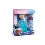 Boneca Com Mecanismo Frozen Elsa 8 Frases 24cm. Elka Unidade