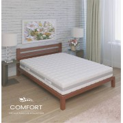 orthopädische 7 Zonen Federkernmatratze Comfort Visco H4 100x200 cm