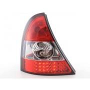 FK-Automotive LED feux arrières pour Renault Clio (type B) An 01-04, clair/rouge