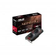 Tarjeta de Video AMD Radeon RX 470 ASUS, 4GB GDDR5, 1xDVI, PCI Express x16 3.0 (sin caja) Nueva. MINING-RX470-4G-OEM