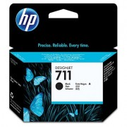 HP 711 Black Ink Cartridge, 80-ml (CZ133A)