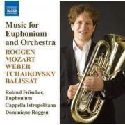 Roggen/ Mozart - Music For Euphonium & Orc (0747313072576) (1 CD)