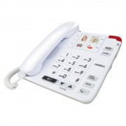 UNIDEN SSE34 Sight & Sound Enhanced Corded Home Phone System
