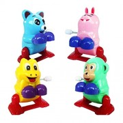 Imported Wind Up Clockwork Back Somersault Animal Kids Toy Collectibles