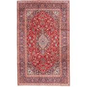 Annodato a mano. Provenienza: Persia / Iran 198X316 Tappeto Keshan Orientale Fatto A Mano Rosa Chiaro/Rosso Scuro (Lana, Persia/Iran)