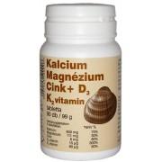 Kalcium, Magnézium, Cink+D3-vitamin tabletta 90x Selenium Pharma