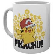 GYE Pokemon - Ash Hat Pikachu Mug