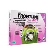 Tri-act para cães dos 2 aos 5kg 3pipetas (validade 12/2019) - Frontline