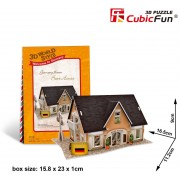 Puzzle 3D Cubic Fun - World Style - Welcome to Germany, 42 piese (Cubic-Fun-W3126H)