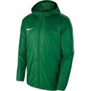 Nike Dry Park 18 Voetbal Sportjas - Maat 140 - Unisex - donker groen/wit