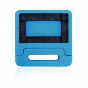 EVA Drop-Resistance Tablet Funda Protectora Soporte Carcasa Trasera Con Asa Azul