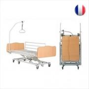 Lit médicalisé X'Press II - 3 fonctions - sans plicatures