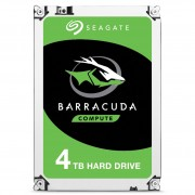 "Seagate Barracuda ST4000DM004 - Disco rígido - 4 TB - interna - 3.5"" - SATA 6Gb/s - 5400 rpm - buffer: 256 MB"
