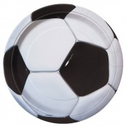 Football Party Plates (Pack of 8)
