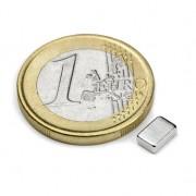 Magnet neodim bloc, 6x4x2 mm, putere 640 g